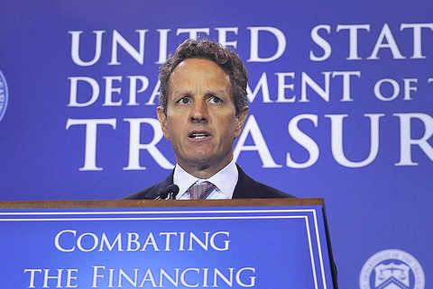 Timothy Geithner, secretario del Tesoro de EEUU