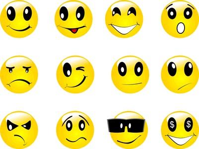 Emoticonos para imprimir - Imagui