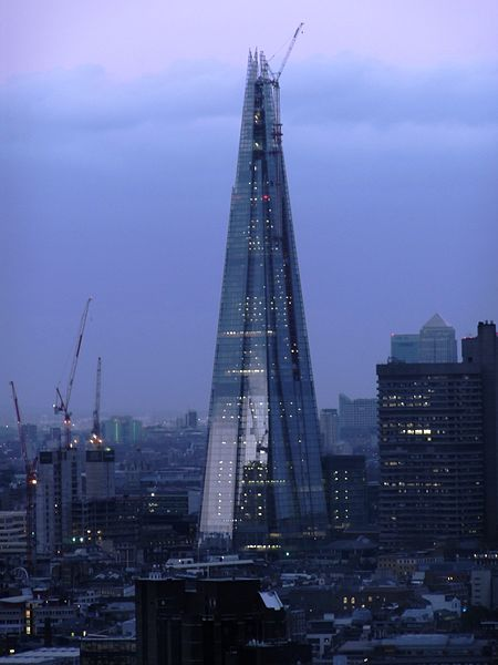 El Shard London en abril de este año
