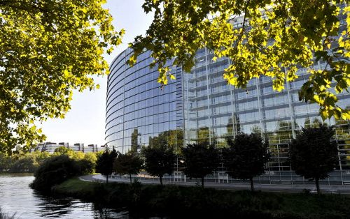 Vista del edificio del Parlamento Europeo