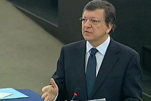 Barroso interviene ante el Parlamento Europeo