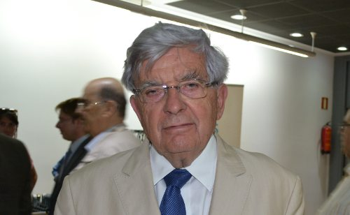 Jean Pierre Chevènement, en el Instituto francés en Madrid