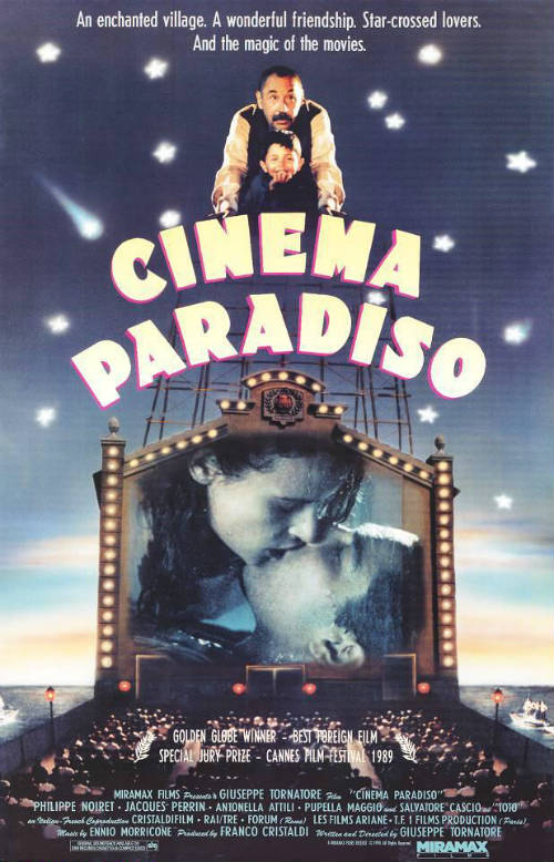 Cartel Cinema Paradiso
