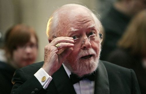 Richard Attenborough, vestido de etiqueta